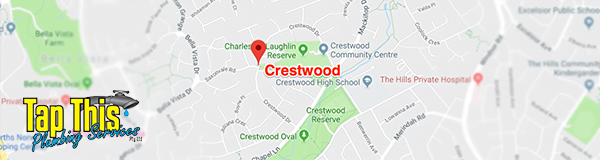 Plumber servicing Crestwood